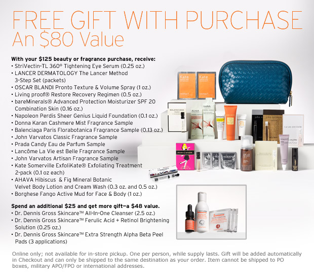 Nordstrom January Free GWP