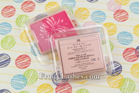 Paul & Joe 2013 Spring Cheek Color Refill Packaging