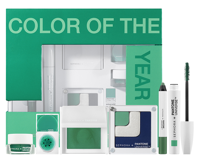 SEPHORA + PANTONE UNIVERSE The 2013 Color of the Year Emerald Collection