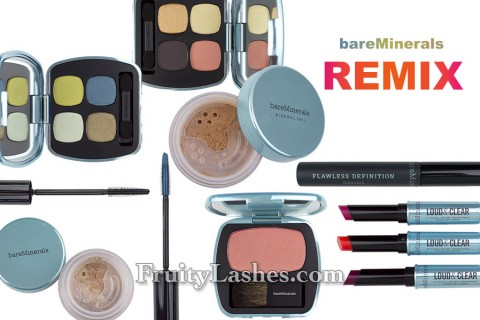 bareMinerals Spring 2013 Remix Collection