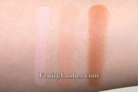 Lorac Touch-Up To Go CF1 CF8 CF12 Swatch