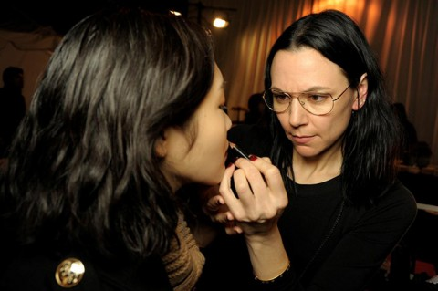 NARS AW13 3.1 Phillip Lim artist in action 1 - lo res