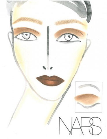 NARS AW13 3.1 Phillip Lim face chart - lo res