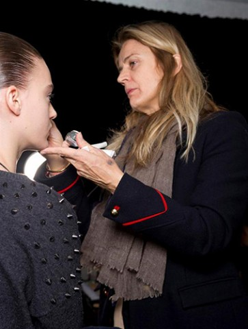NARS AW13 Alexander Wang artist in action 1 - lo res