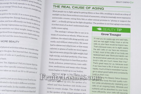 The Real Cause of Aging Beauty Detox