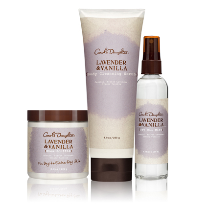 Carol's Daughter Lavender Vanilla Collection
