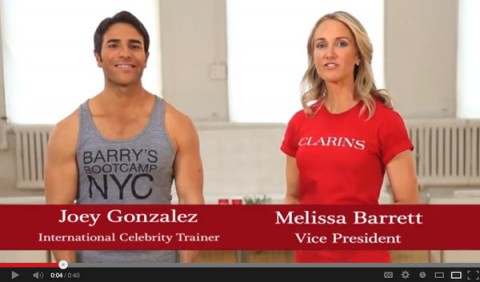 Clarins and Barry's Bootcamp 4-week countdown to summer slim