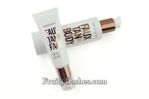 bareMinerals Faux Tan Face Faux Tan Body Sunless Tanner