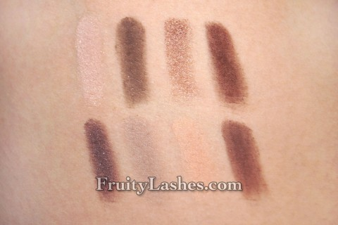 bareMinerals READY Eyeshadow The Power Neutrals Swatch