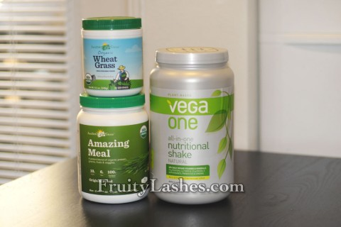 Amazing Meal Wheat Grass Vega One Shake