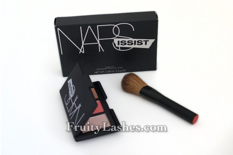 Nars NARSissist‎ Cheek Kit Palette and Brush