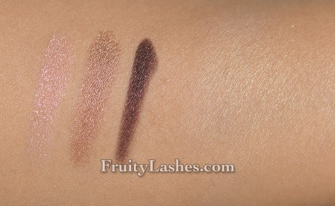 Paul & Joe Spring 2014 Eye Color Trio Cherry Blossom Face Powder Swatches