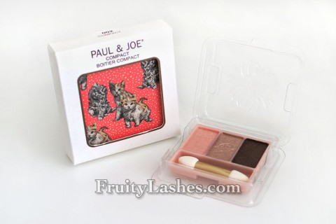 Paul & Joe Spring 2014 Eyeshadow Trio Compact