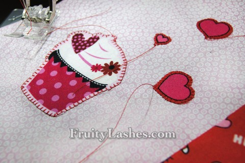 Blanket Stitch for Applique