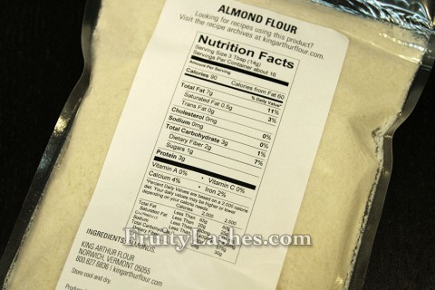King Arthur Flour Almond Flour Nutrition Facts