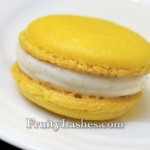 Lemon Macaron Filled with Lemon Cream Cheese