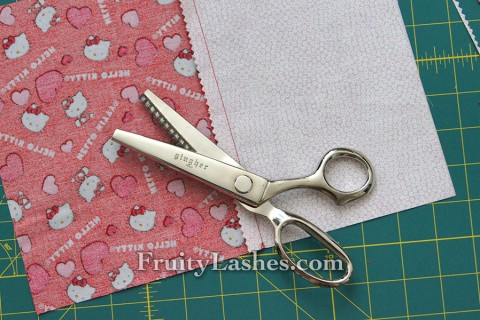 Pinking Fabric Edge