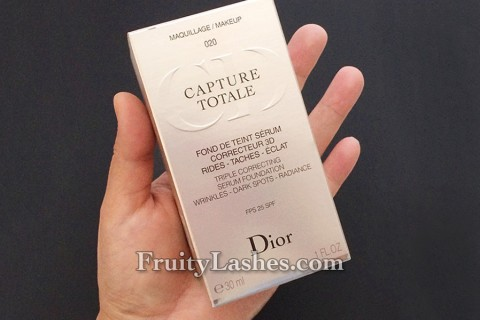 Dior Capture Totale Serum Foundation